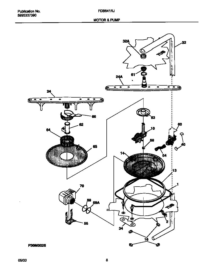 Dishwasher Schematic Diagram