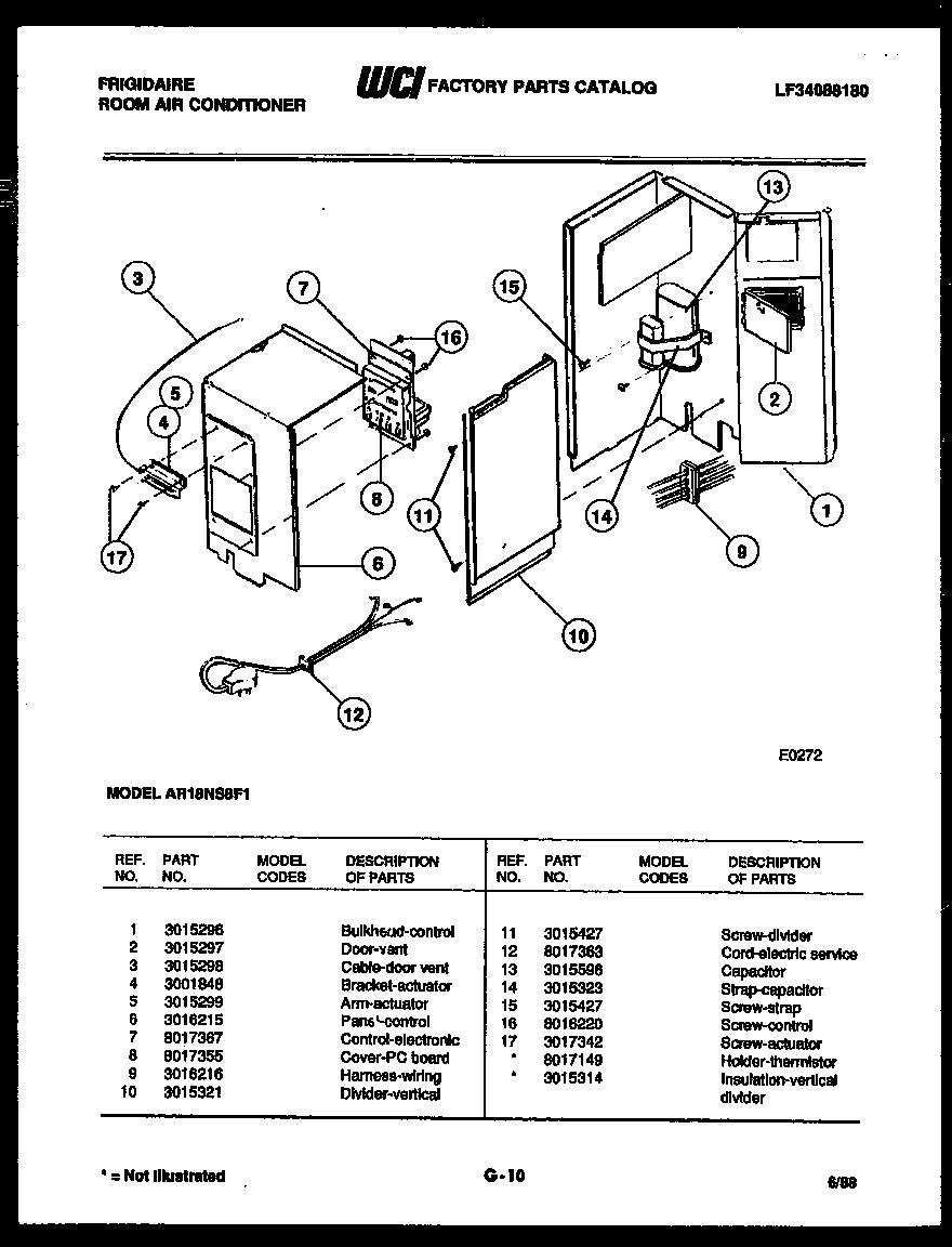 Frigidaire: Frigidaire Ac Parts