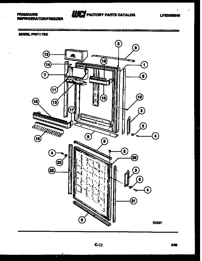 Frigidaire Refrigerator: Frigidaire Euroflair Refrigerator