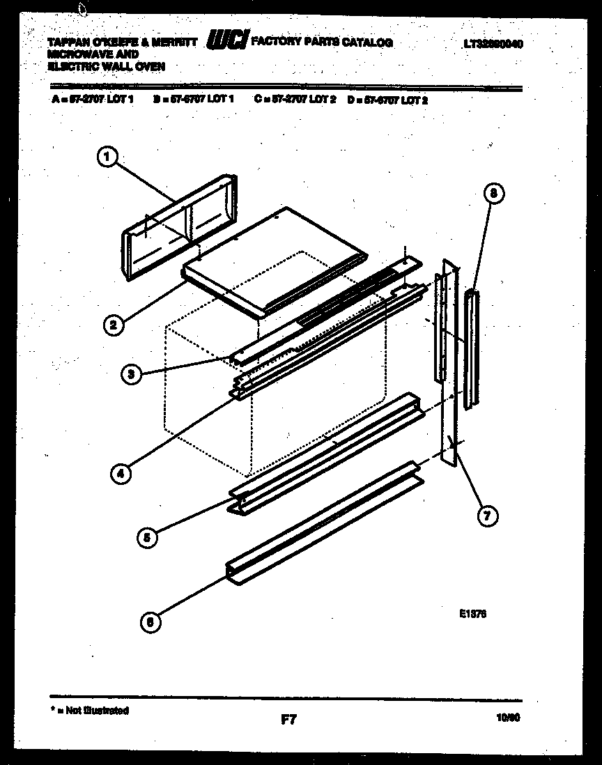 Wall Oven: Tappan Wall Oven Parts