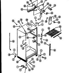 refrigerators parts kelvinator refrigerator parts sears refrigerator wiring diagram diagram of how a freezer works fridge [ 768 x 1098 Pixel ]