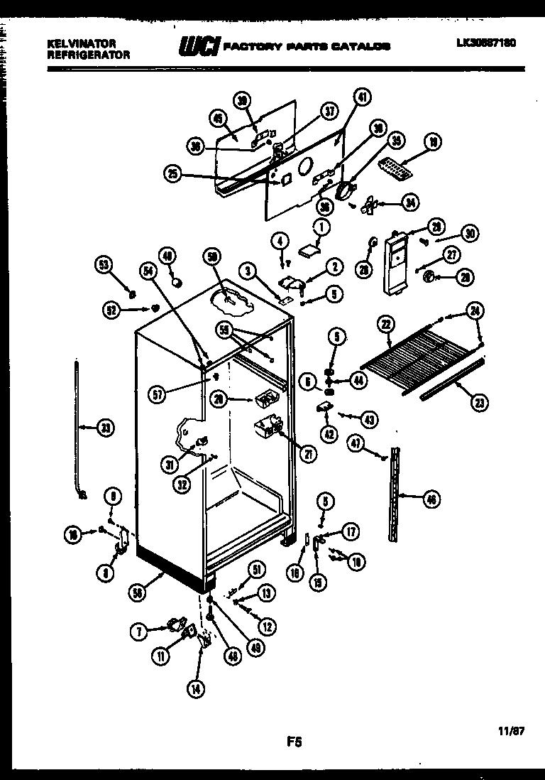 hight resolution of refrigerators parts kelvinator refrigerator parts sears refrigerator wiring diagram diagram of how a freezer works fridge