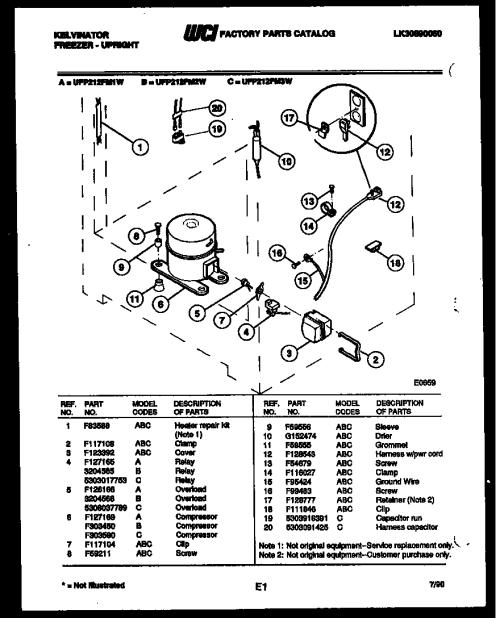 small resolution of kelvinator refrigerator wiring diagram