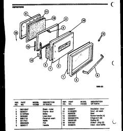 kelvinator rep307gd0 door parts diagram [ 864 x 1109 Pixel ]