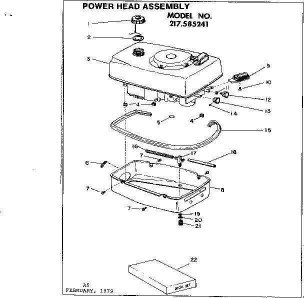 Craftsman model 217585241 boat motor gas genuine parts