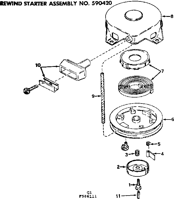 Craftsman model 217586111 boat motor gas genuine parts