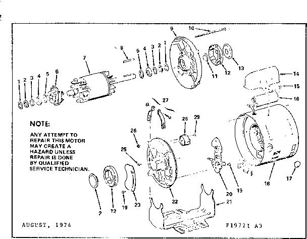 Craftsman model 11319721 hardware/tools genuine parts