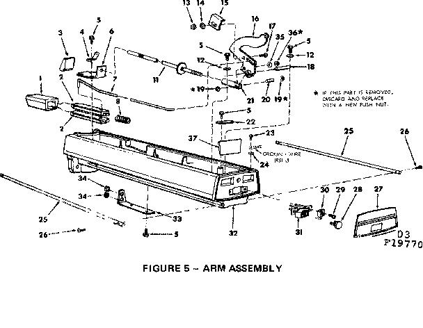 Craftsman model 11319770 saw radial genuine parts