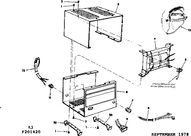 Craftsman model 113201420 welder genuine parts