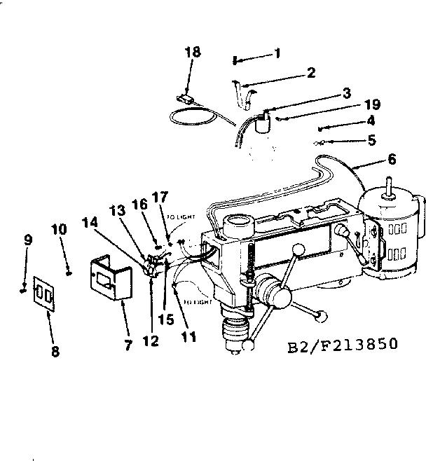 Craftsman model 113213850 drill press genuine parts