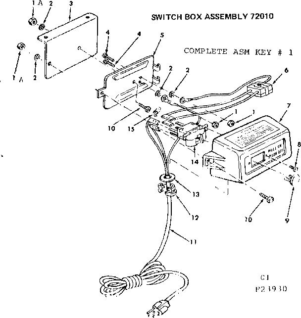 Craftsman model 11323930 planer genuine parts