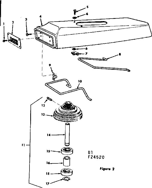 Craftsman model 11324520 drill press genuine parts