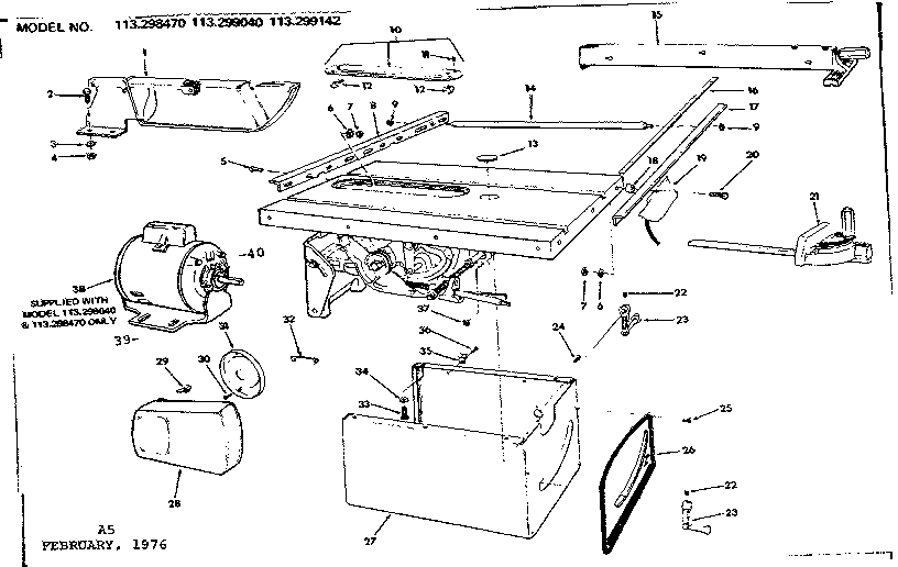 Sears Craftsman 9 Table Saw Wiring Diagram Square D 8536