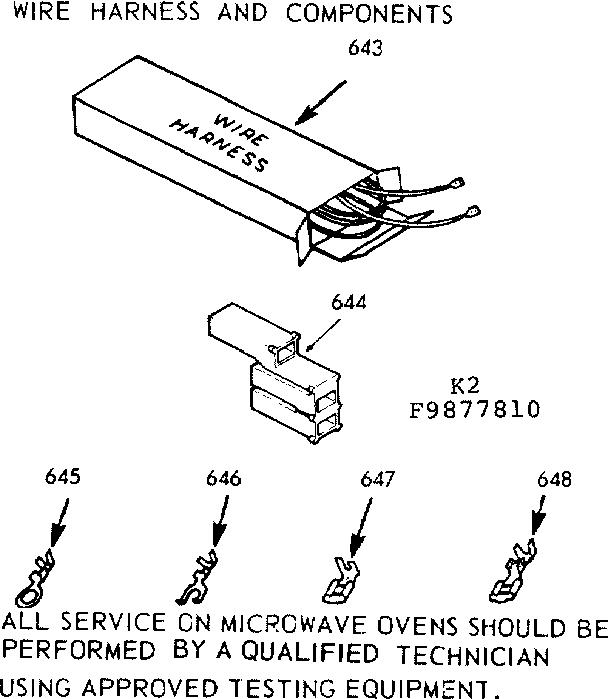 Kenmore model 1039877810 countertop microwave genuine parts