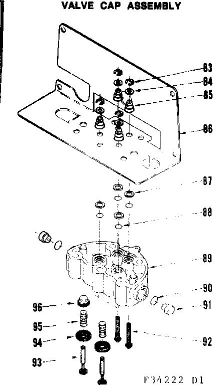 Kenmore model 62534222 reverse osmosis genuine parts