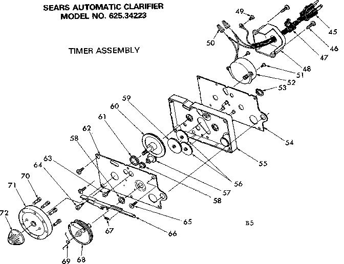 Kenmore model 62534223 reverse osmosis genuine parts