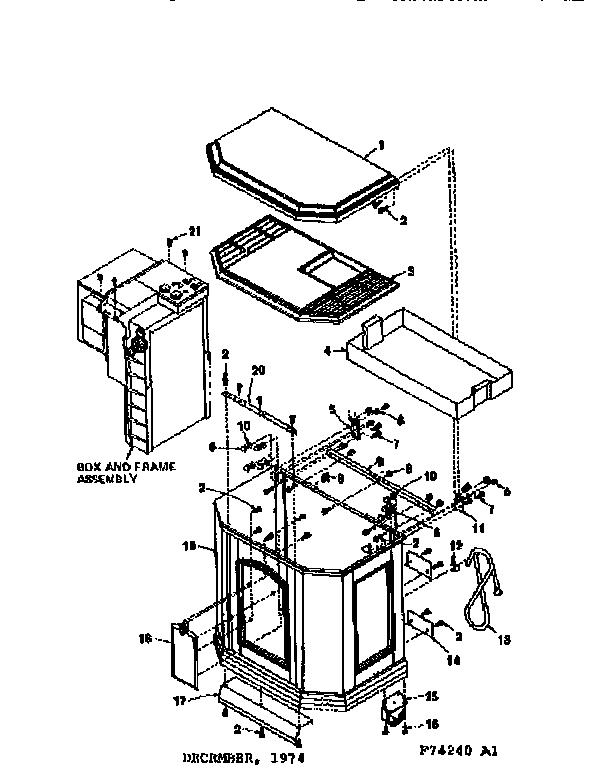 Kenmore model 75874240 humidifier genuine parts