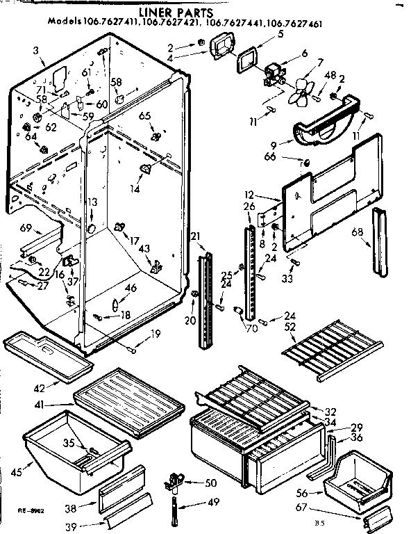 kenmore coldspot refrigerator repair manual