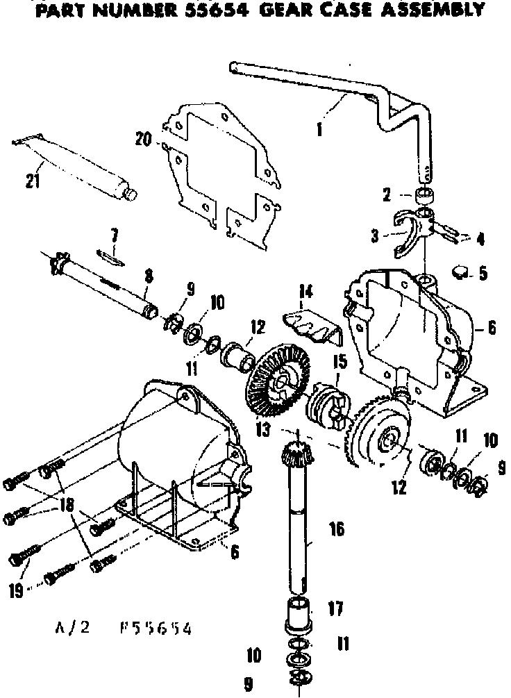 Craftsman model 13196210 lawn, riding mower rear engine