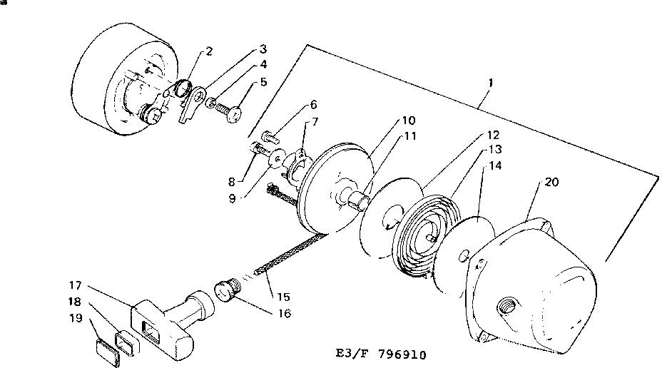 Craftsman model 234796910 line trimmer/weedwacker
