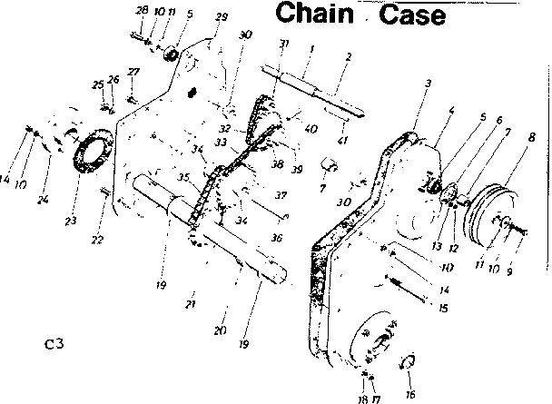 Craftsman model 247296730 hole digger genuine parts