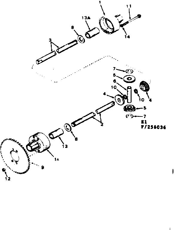 Craftsman model 502256036 lawn, tractor genuine parts