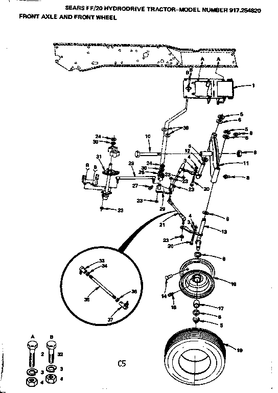 Lawn Mower Lt 1000 Craftsman Deck Parts Diagram Craftsman