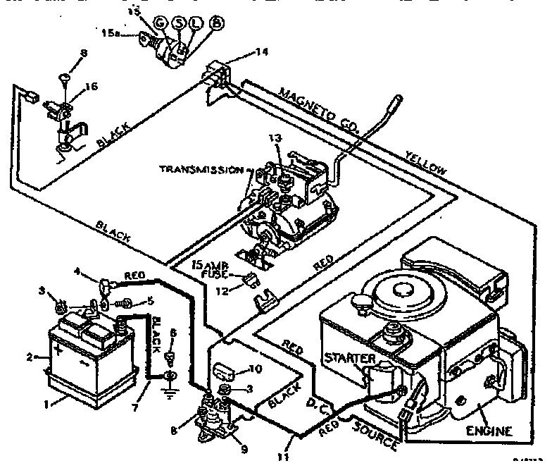 Craftsman model 502255631 lawn, tractor genuine parts