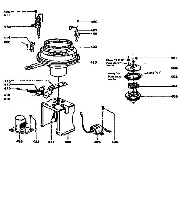 Comfort-glow model PHS/M heater, kerosene genuine parts