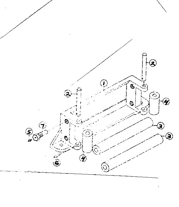 Ramsey model RE 12000 winch genuine parts
