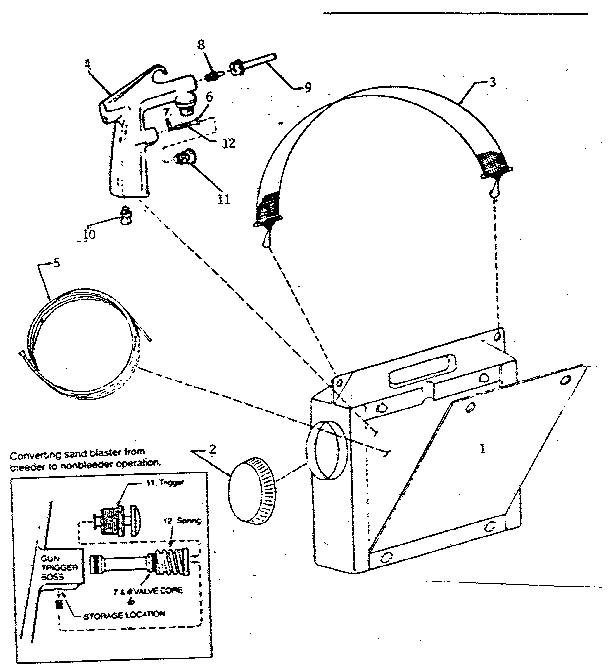 Craftsman model 106168060 impact tool genuine parts