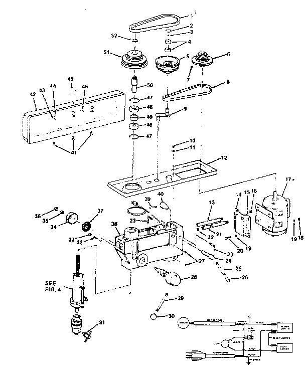 Craftsman model 113213853 drill press genuine parts