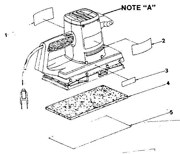 Craftsman model 31511690 sander genuine parts