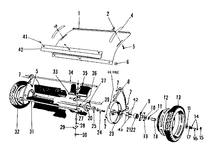 Craftsman model 426260922 lawn sweeper genuine parts