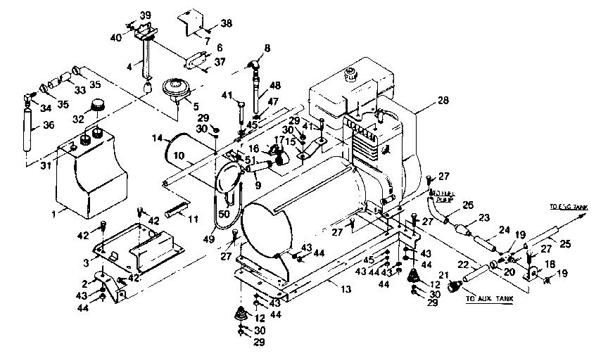 Craftsman model 580328230 generator genuine parts