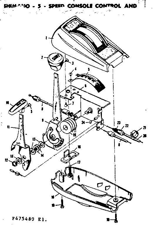 Sears model 502475480 bicycles genuine parts