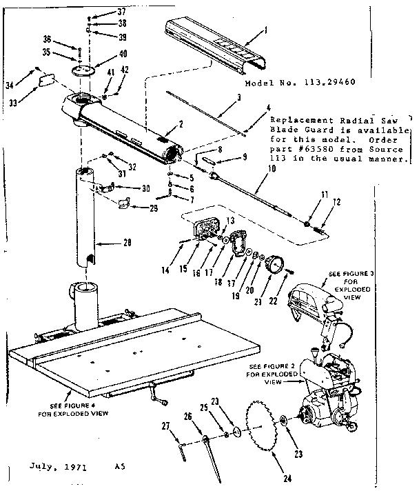CRAFTSMAN CRAFTSMAN 10 INCH ACCRA-ARM RADIAL SAW Parts