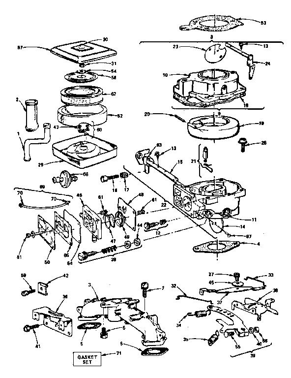 Briggs Amp Stratton Gas Engine Air Cleaner Carburetor