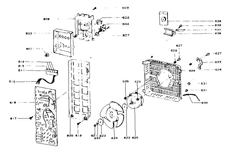 Comfort-Glow model PHS/S heater, kerosene genuine parts