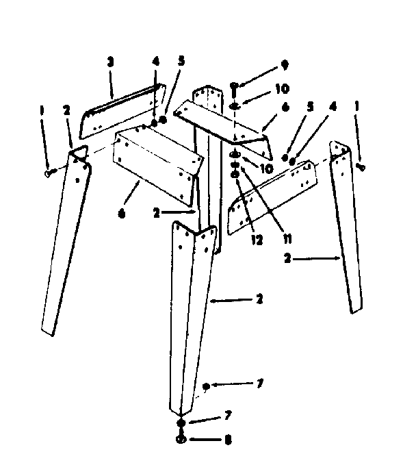 Craftsman model 113241691 table saw genuine parts