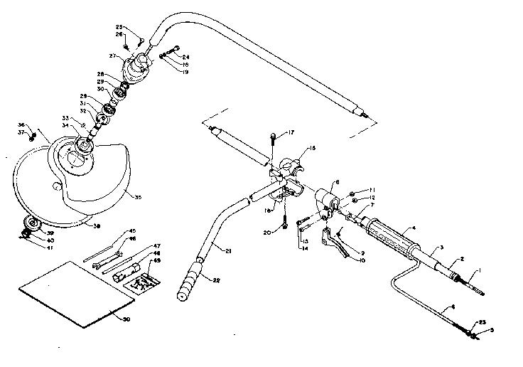 Craftsman model 271281710 line trimmer/weedwacker