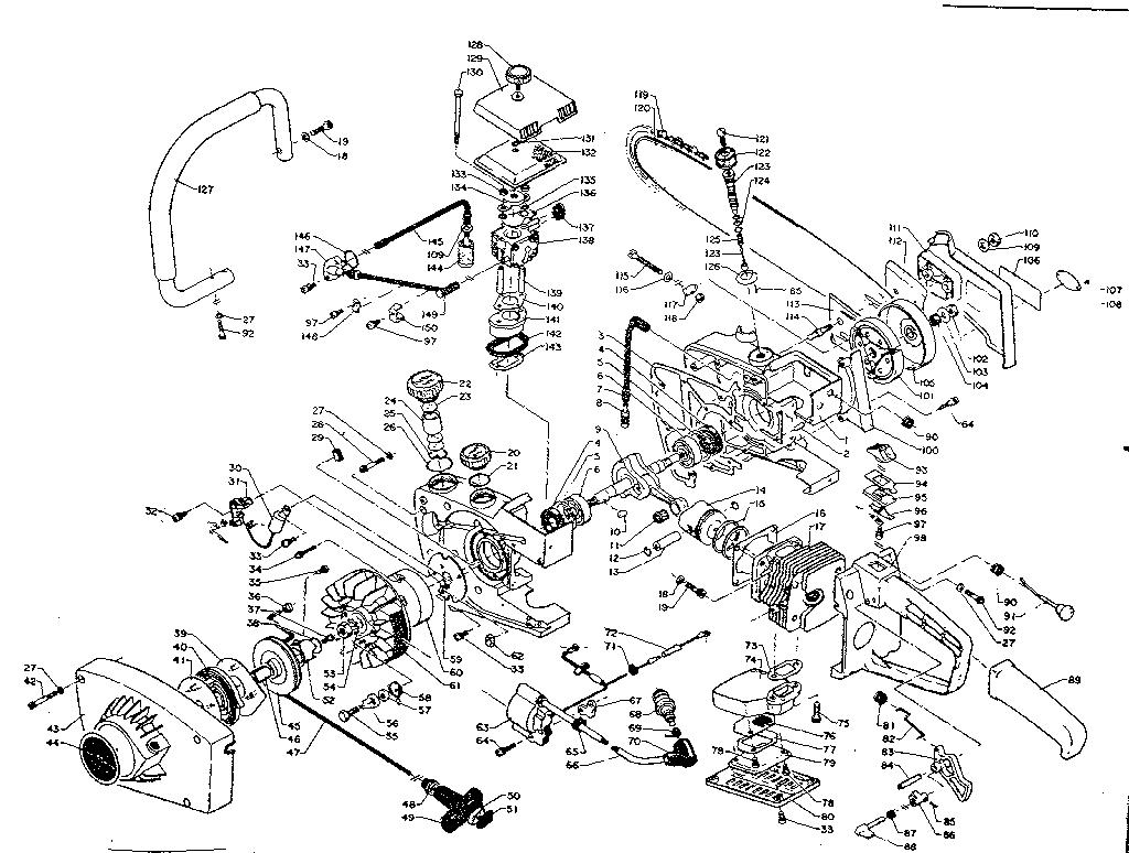 Craftsman model 271358240 line trimmer/weedwacker