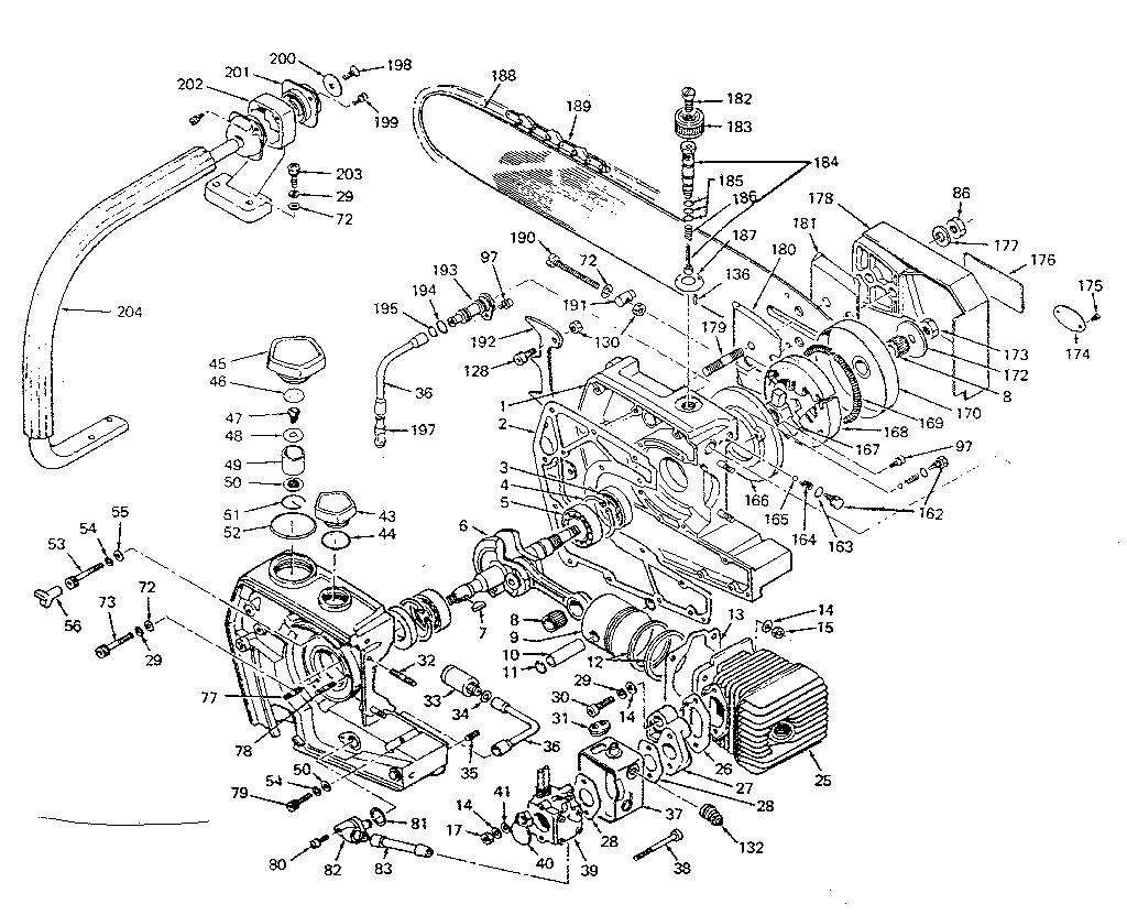 Craftsman model 271358260 line trimmer/weedwacker