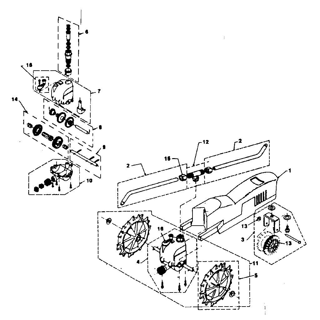 Craftsman model 564790150 lawn sprinkler genuine parts