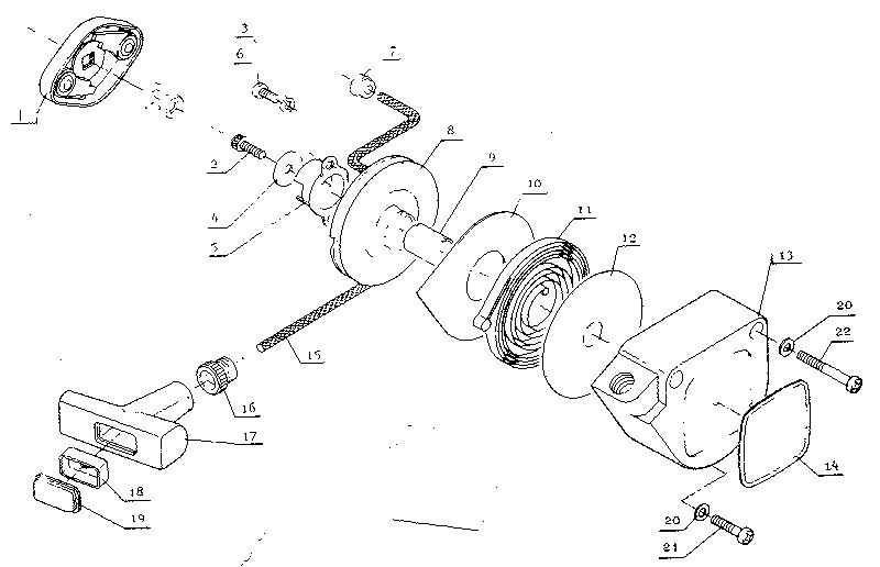 Craftsman model 271281611 line trimmer/weedwacker