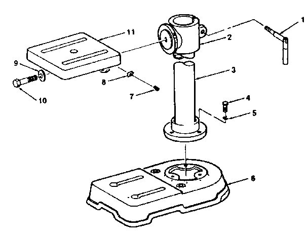 Craftsman model 113213722 drill press genuine parts