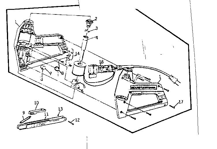 Craftsman model 193684710 stapler electric genuine parts