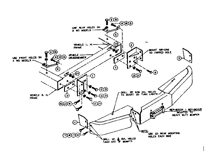 Ramsey model 292015 winch genuine parts