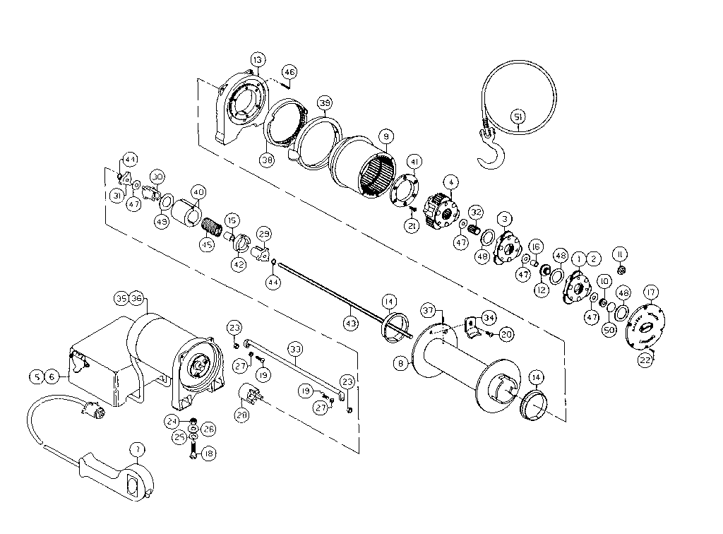Ramsey Rep 8000 Solenoid Diagram Ramsey Winch Rep 8 000