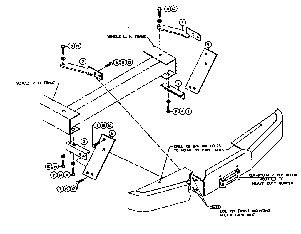 Ramsey model 292009 winch genuine parts